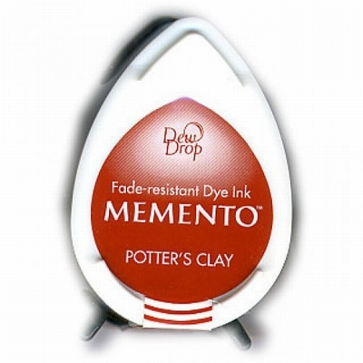 MD801 Memento Inkpad Dewdrops Potter's clay