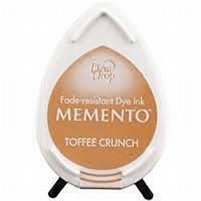 MD805 Memento Inkpad Dewdrops Toffee Crunch