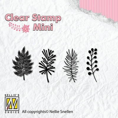 MAFS007 Clear Stamps Christmas mini Christmas branches-1