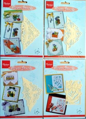 4 Flowerstencils Marianne Design