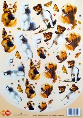 3DPP1004 Card Deco Honden