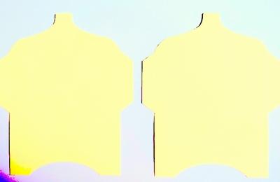 SK003 - 2 Knutselcadeau enveloppen Lichtgeel