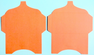 SK011 - 2 Knutselcadeau enveloppen Oranje