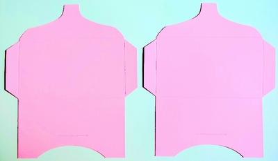 SK016 - 2 Knutselcadeau enveloppen Roze