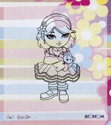 Bloss03 Blossom stempel