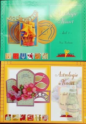 2 Hobbydols boekjes Astrologie deel 1 en deel 2