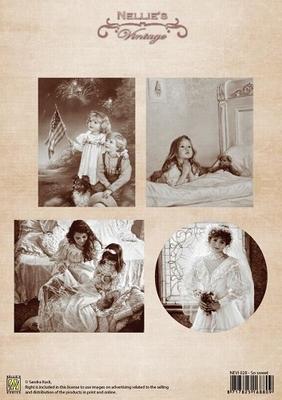 NEVI028 A4 sheet vintage so sweet