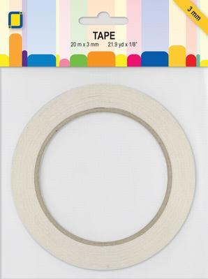 TB3.0mm 3.3193 Dubbelzijdig tape 3mmx20mtr