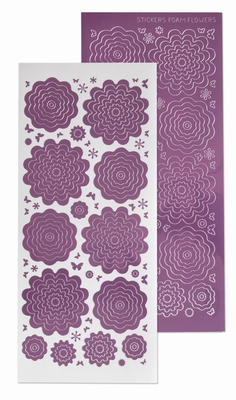 61.5855 Nested Flowers stickers 6. mirror candy