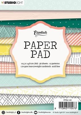 PPSL140 Studio Light Paper pad A6 36 vel