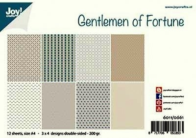 6011/0661 Papierset - Design - Gentlemen of Fortune