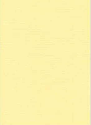 Vierkant karton 13,5 X 27 cm  Nr 03  Lichtgeel per 5 vel