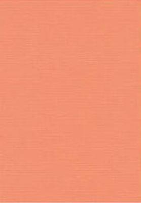 Vierkant karton 13,5 X 27 cm  Nr 10 Zacht Oranje per 5 vel
