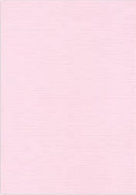 Vierkant karton 13,5 X 27 cm  Nr 15 Lichtroze per 5 vel