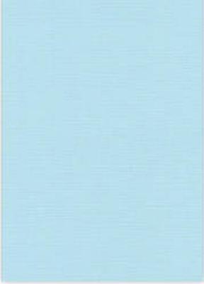 Vierkant karton 13,5 X 27 cm  Nr 27 Babyblauw per 5 vel