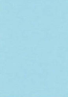 Vierkant karton 13,5 X 27 cm  Nr 28 Lichtblauw per 5 vel