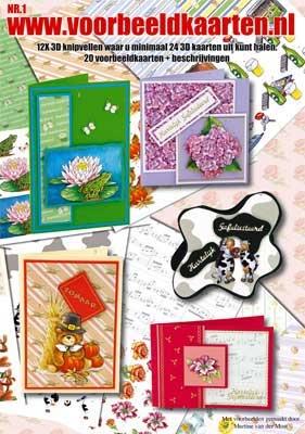 VB01 Voorbeeldkaarten boek Nr.1