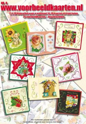 VB08 Voorbeeldkaarten boek Nr.8