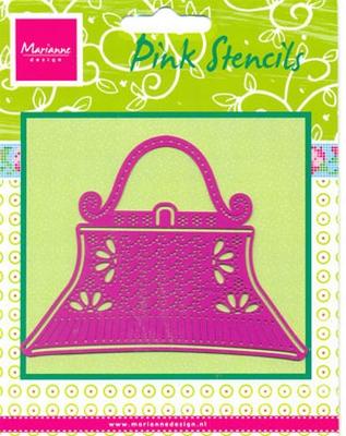 PK9006 - Pink Stencils Marianne Design