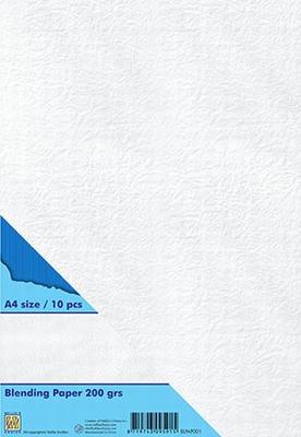 BLPAP001 10 Vel A4 Blending paper 200 gramm wit