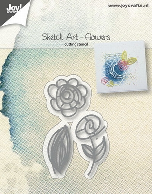 6002/1035 Joy! crafts - Die - Sketch art - Flowers