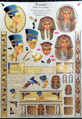 1600147 Dufex Freestyle Decoupage Egypte