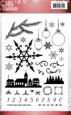 JACS10029 Clear Stamps - Jeanine's Art - Lovely Christmas