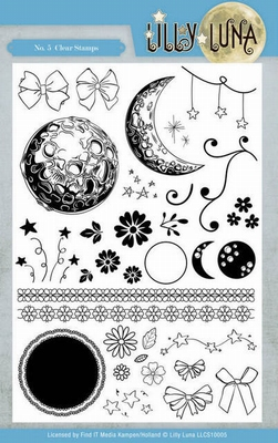 LLCS10005 Clear Stamps - Lilly Luna