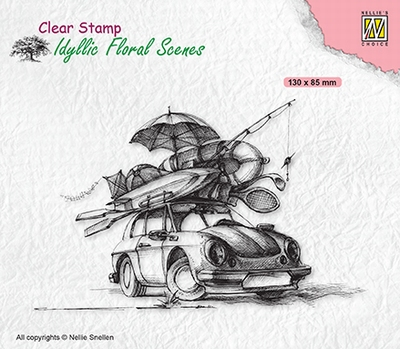 IFS038 Clear stamps Idyllic Florasl Scenes Summer vacation