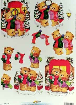 11055-109 Knipvel Doe Maar Kerst