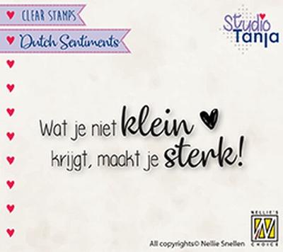 SENC016 Dutch Sentiments Wat je niet klein krijgt, maakt j