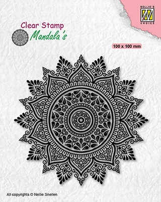 CSMAN008 Clear stamps Sunflower-2