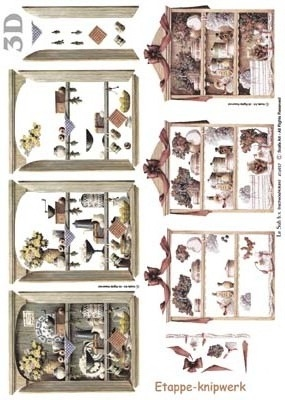 416937 - 3D  Nostalgisch kastje