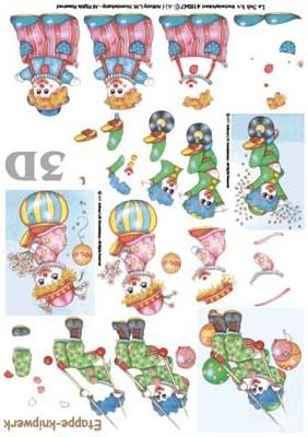 416947 LeSuh Diverse Clowntjes