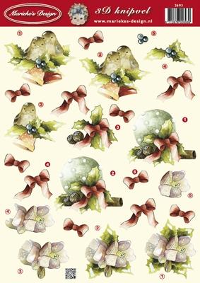 VB2693 Marieke  Vogeltjes Kerst