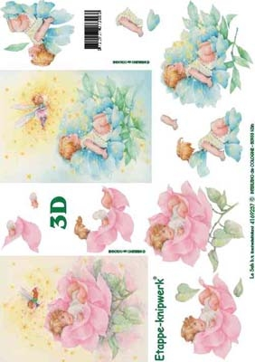 4169237 LeSuh Kindje in bloem
