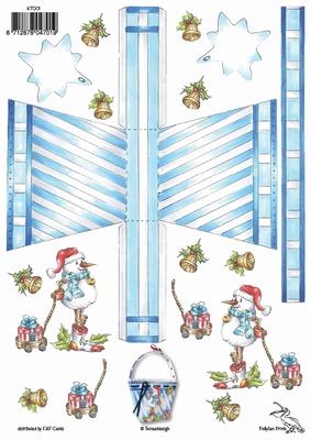 KT001 Tasjes Kerstsfeer Klik op het plaatje en zie voorbeel