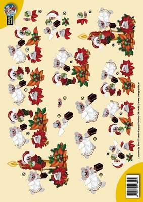 CW10048 Creddy World  Kerst