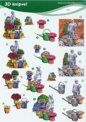 VB2492 3D Tuinbeelden