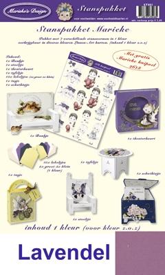 ST00137 Marieke Stanspakket Nr.37  Lavendel
