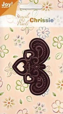60011032 Chrissie Borduurstencil Joy Crafts