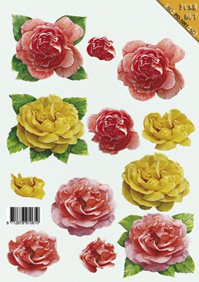 PO1061 Push Out Bloemen