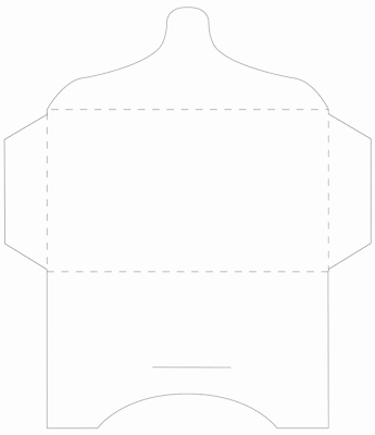 SK001 - 2 Knutselcadeau enveloppen Wit