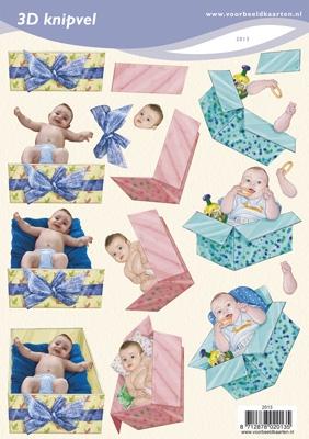 VB2013 Baby in Kadoverpakking