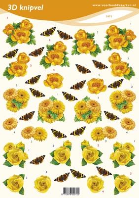 VB2072 Bloemen/Vlinders