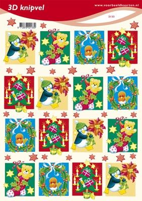 VB2133 Diverse Kerstplaatjes