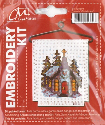 BK438399 Borduurpakket Kerk