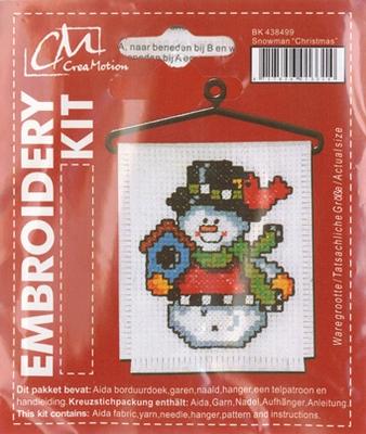 BK438499 Borduurpakket Sneeuwman