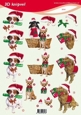 VB2316 Kerst/Hond