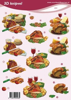 VB2493 Vleesbuffet